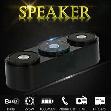Portable 10W Loudspeaker Powerful Wireless Bluetooth Stereo Bass Speakers HK