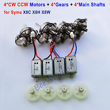 Syma X8C X8W X8HC HW RC Quadcopter Spare Parts CW CCW Motor & Gear & Main Shaft