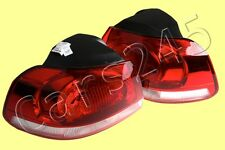 Tail Lights Rear Lamps PAIR Fits VW Golf Mk6 2009-2013