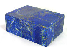 "BUTW Hand Crafted Afghan Lapis Lazuli 3 7/8 "" Jewelry Box Gorgeous Color 1303K"