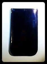 custodia per Apple iPhone 5 5S 5C colore grigio topo lucido L13,5 x 8,0 x 0,5 CM