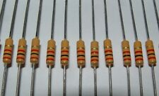 25 x Iskra  2k 1960s / 1970s style carbon film resistor 2k0   2000 ohm