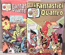 I FANTASTICI QUATTRO Editoriale Corno 1977 Lotto di 2 numeri N 159 191 Fumetti