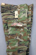 RALPH LAUREN DENIM & SUPPLY Mens GREEN MILITARY CAMO CARGO PANTS NWT 28x32 $145