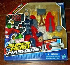 New Marvel Super Hero Mashers: THOR Action Figure w/Launching Hammer Missile