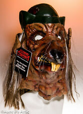 Mask Rat With Hat Full Over The Head Latex Mask With Hair Halloween Disguise