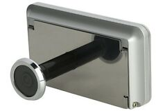 "Wireless Digital Door Peephole Viewer High Resolution Camera 3.2"" Monitor Chrome"