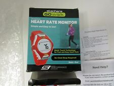 Skechers GO Walk Classic Heart Rate Monitor Watch RED