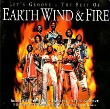 EARTH WIND & FIRE - LET'S GROOVE THE BEST OF - CD SIGILLATO 1996