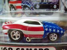 MUSCLE MACHINES - '69 CHEVY CAMARO - SEPTEMBER 11, 2001 - STARS & STRIPES