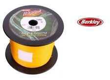 Berkley Whiplash Braid Yellow 1500m Bulk Spool 100lb (46.9kg) 0.28mm SALE