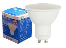 10 PACK 6W GU10 LED Super Bright Cool White Colour 50w Replaces Halogen Bulb