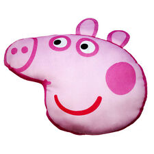 OFFICIAL Licensed Product Peppa Pig A Forma Di Cuscino Cuscino Morbido Letto Rosa Regalo Nuovo