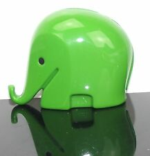 Luigi Colani Elefant grün - Spardose - Money Box green - Panton Eames Era - L