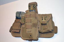 Tactical Drop Leg Thigh Gun Pistol Holster Tan Desert Color Glock Sig H&K S&W