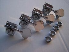 Genuine Fender USA Highway 1 Chrome BASS GUITAR Tuners Set ~~ NEW ~~