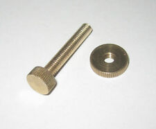 M4 knurled screws & washers 10 pairs
