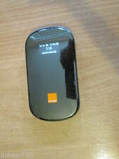 BLACK ORANGE HUAWEI E587 43.2 Mbps 3G dchspa + Mobile Broadband hotspot WiFi