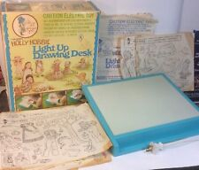 Collectible Lakeside's Holly Hobbie Light UP Drawing Desk 1975 In Box Complete