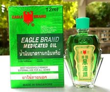 EAGLE  BRAND  MEDICATED OIL RELIEF  PAIN   DIZZINESS  12 ML