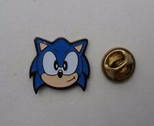 SONIC THE HEDGEHOG HEAD SEGA 1992 RARO VINTAGE MINT smalto metal pin badge pin