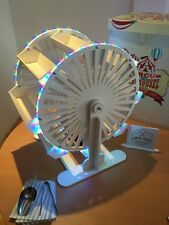 LED Candy Cart Ferris Wheel,New,Assembled,60cm High,FreeTongs,Scoop,100Bags,Sign