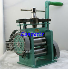 Manual Combination Rolling Mill Machine, Jewelry Tool Rolling Mill 123MM