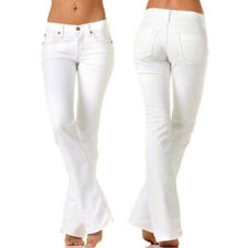 $167 James Jeans Hector High Waist Boot Cut Jeans in Aspen White 27