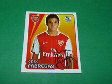 N°25 C. FABREGAS ARSENAL GUNNERS MERLIN PREMIER LEAGUE FOOTBALL 2007-2008 PANINI