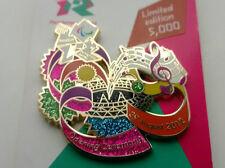 Insignia pin de Juegos Olímpicos de Londres 2012-Juegos Paralímpicos la ceremonia de apertura