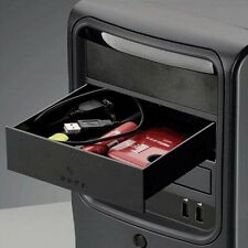 Black Computer 5.25 Inch Drive Storage Drawer Box Tray for DVD/CD ROM PC Hot