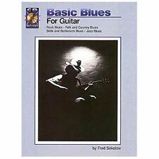 Basic Blues for Guitar: BookCD Pack