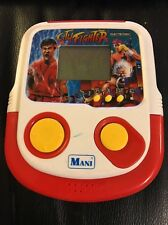 RARE Vintage MANI City Fighter Electronic LCD Handheld Video Game Tested