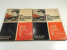 1974 Snap-On Tools Basic Air Conditioning Service Training Manual GA-279A