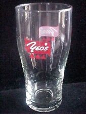 "OLD EDITION - 1 x  Singapore drinking glass - Yeo's "" Cola Shape""   (CA- #14)"