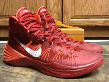 NIKE HYPERDUNK MEN'S RED MID ATHLETIC BASKETBALL SHOES SIZE 13