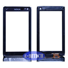 Nokia Lumia N8 with Black Frame Digitizer Screen Display Touch Pad Lens