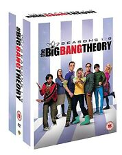 The BIG BANG THEORY SEASON 1,2,3,4,5,6,7,8,9 BOXSET 28 DISC R4 1-9