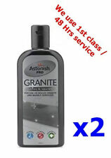 2X Astonish Pro Sealed Marble & Granite Surface Cleaner Polish Protection Cream