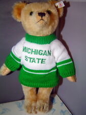 STEIFF Anno Teddy Bear goes to the Michigan State game 14 in USA Limited Edition