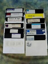 Lot of 12 Commodore 64 / 128 Games Koala, Tonk, Mimi 2, Satans Hollow, etc.