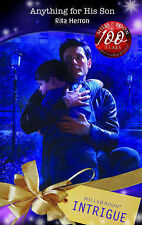 Herron, Rita Anything for His Son (Mills & Boon Intrigue) Very Good Book