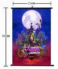 HOT Anime Game The Legend of Zelda Wall Poster Scroll Home Decor Cosplay 860