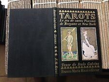 TAROTS texte de ITALO CALVINO - Franco Maria Ricci