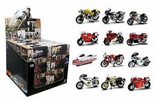 New Ray Toys 1:32 Scale Ducati Ser Motorcycle 24 Piece Assortment w/ Display Box