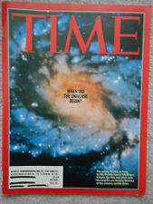 TIME 1995 MARCH 6,  WHEN DID THE UNIVERSE BEGIN