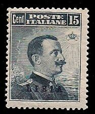 LIBIA 1912 - 15 c. n. 5 NUOVO TL € 380
