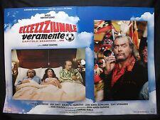 FOTOBUSTA CINEMA - ECCEZZZIUNALE VERAMENTE - DIEGO ABATANTUONO - 2006 - COMICO