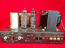 RAYMER MODEL 904 VINTAGE MONO TUBE AMPLIFIER IN ORIGINAL BOX WITH INSTRUCTIONS