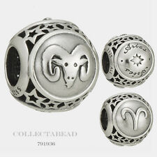 Authentic Pandora Sterling Silver Zodiac Aries Star Sign Charm Bead 791936